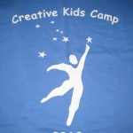 """Creative Kids Camp"" T-Shirt"