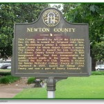 Newton County Historical Marker
